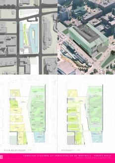 Complexe culturel et administratif de Montréal │ Competition Board 1