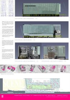 Complexe culturel et administratif de Montréal │ Competition Board 2