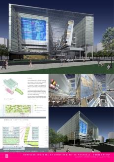 Complexe culturel et administratif de Montréal │ Competition Board 3