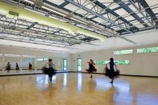 Dance Studio. Photo by Albert Vecerka │ ESTO.