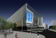 Complexe culturel et administratif de Montréal. Image by Rick Kuhn + Joel Dabrowski.