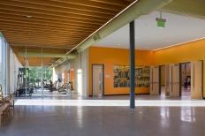 Entry + Gathering Area. Photo by Albert Vecerka │ ESTO.