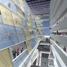 Complexe culturel et administratif de Montréal │ Image by Rick Kuhn + Joel Dabrowski