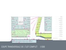 Complexe culturel et administratif de Montréal Transverse Section