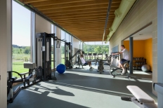 Fitness Center. Photo by Albert Vecerka │ ESTO.