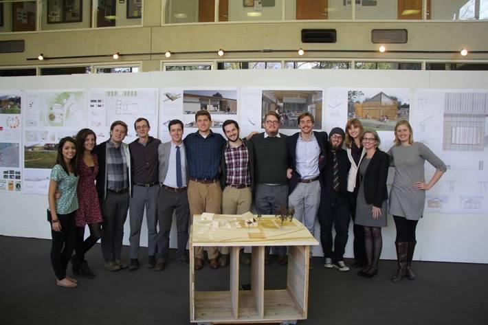 UTK Team Beardsley Farm, with Jennifer Akerman. Photo: UT College of Architecture and Design.