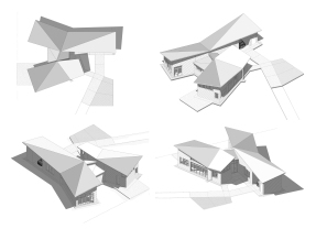Aerial Massing Studies. Images: Jessica Pace.