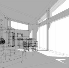 Interior Study. Image: Bradley Walters.