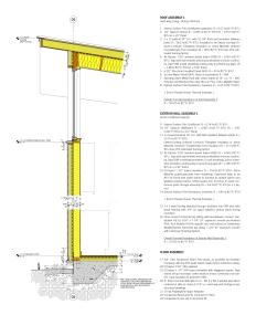 Design Development Wall Section. Image: Bradley Walters.