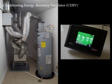 Conditioning Energy Recovery Ventilator (CERV). Image: Bradley Walters.
